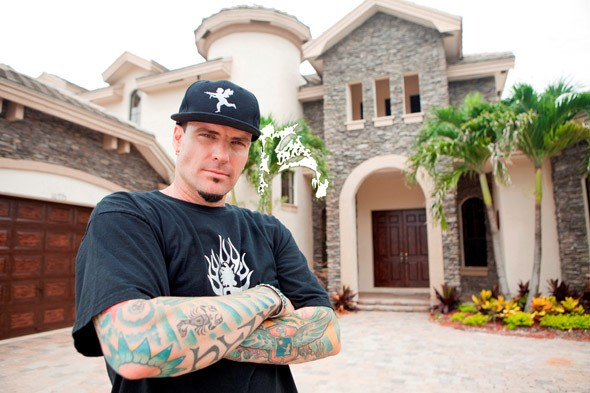 Vanilla ice project houses